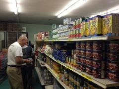 stocking shelves more